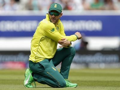 Former South Africa captain Du Plessis will 'take the knee'