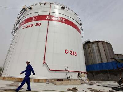 China's Sinopec to invest 5.4bn yuan in gas wells in northwest,