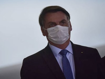 Brazil's Bolsonaro tests positive for coronavirus, again