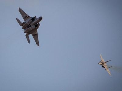 Iran says Israeli figher jets intercepted passenger plane