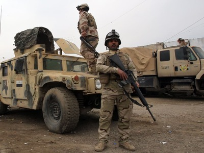 Iraqi forces free German woman kidnapped in Baghdad