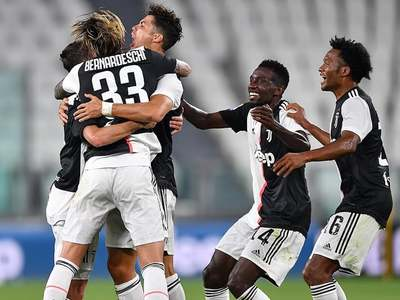 Sarri savours 'sweet' first title with Juve after difficult debut season