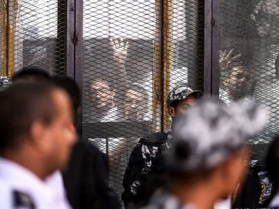 Egypt executes 7 over killing of policeman in 2013