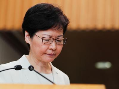 Hong Kong leader says key election postponed, blow to pro-democracy camp