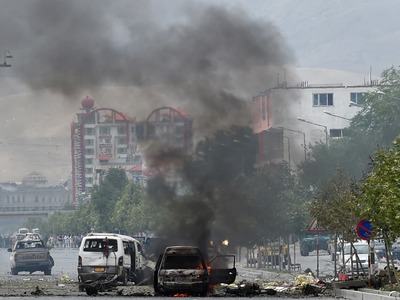 Three killed as mob, security forces clash