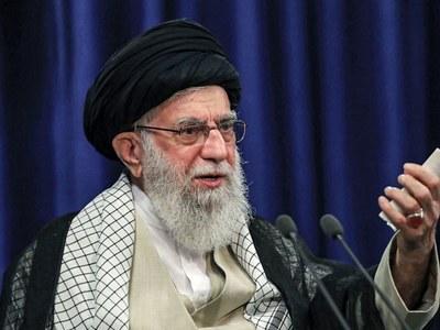 Khamenei says sanctions failed, no talks with Trump