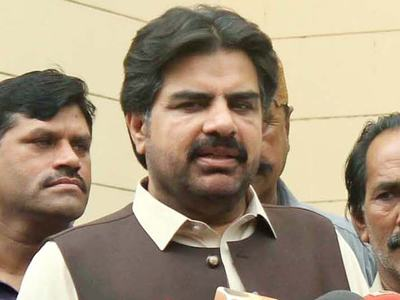 Nasir Shah handed over cheaque of Rs5 million to Sukkur Press Club