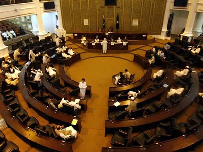 KP Assembly pays tribute to police martyrs, offers fateha