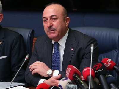 Turkey's foreign minister visits Libya