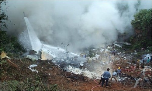 Air India plane crashes in India's Kerala, at least two feared dead
