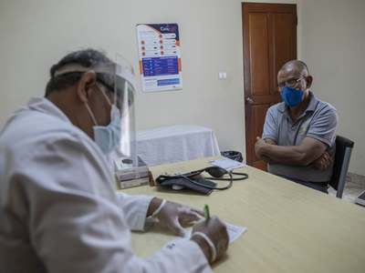 India virus tally hit 2 million