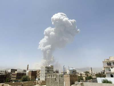 Children among 20 killed in Yemen strike