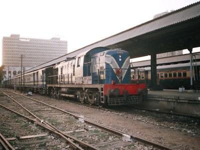 Chairman Railways inspects KCR track