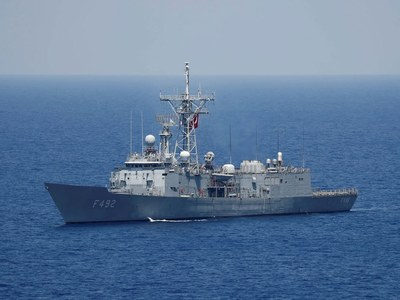 Greece says Turkish ship in East Med 'threatening' peace
