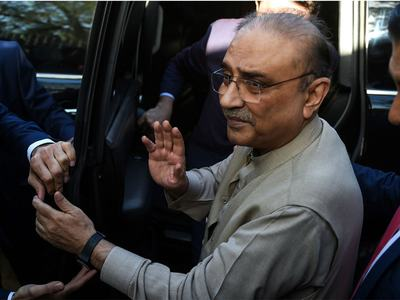 Zardari, others indicted in Park Lane reference