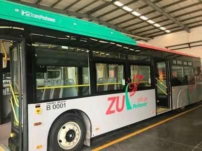 How to travel on BRT Peshawar?