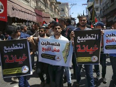 Palestinians feel 'betrayal' of Israel-UAE deal