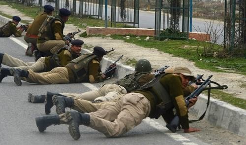 Two policemen killed in IOK