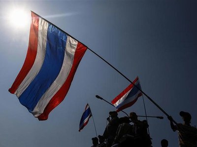 Thailand pro-democracy rally crowd estimated at 10,000: police