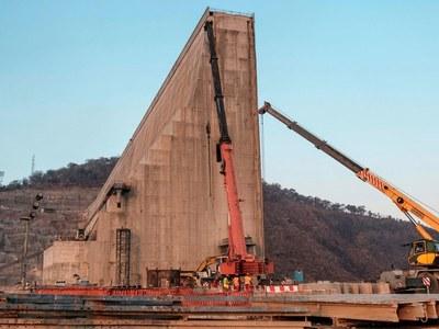Talks resume on Nile mega-dam