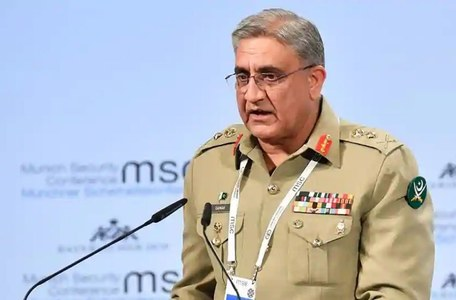 Army chief arrives in Saudi Arabia