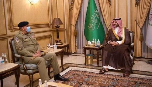 COAS Bajwa meets Saudi counterpart, discusses regional security