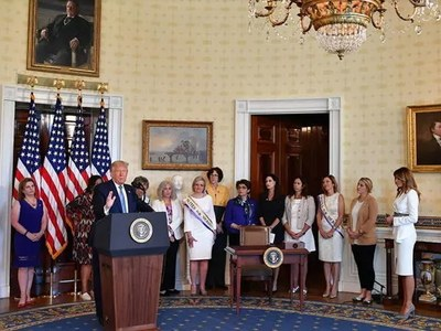 Trump to pardon US women's suffrage hero Susan B. Anthony