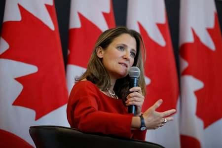 Deputy PM Freeland to be named Canada finance minister: media