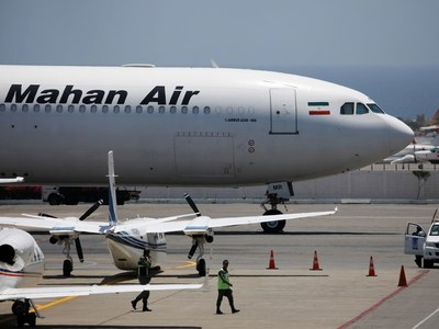 US blacklists UAE firms for supporting Iran airline