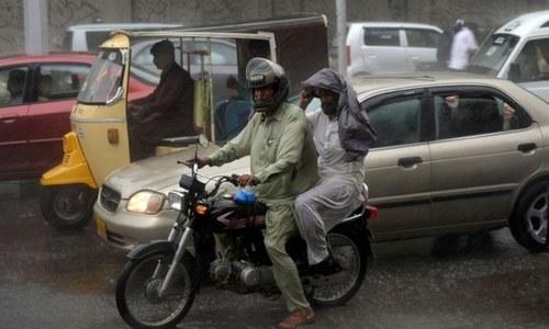 Karachi to receive rain today, tomorrow