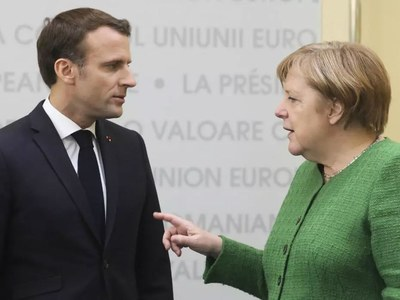 Macron and Merkel meet with Turkey, Belarus, COVID on the agenda