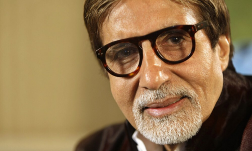 Amitabh Bachchan is back at work as India relaxes on-set rules