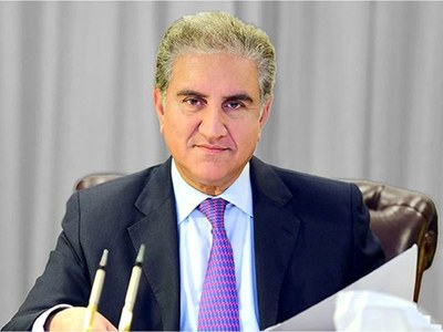 Qureshi briefs NA body about talks with Taliban team