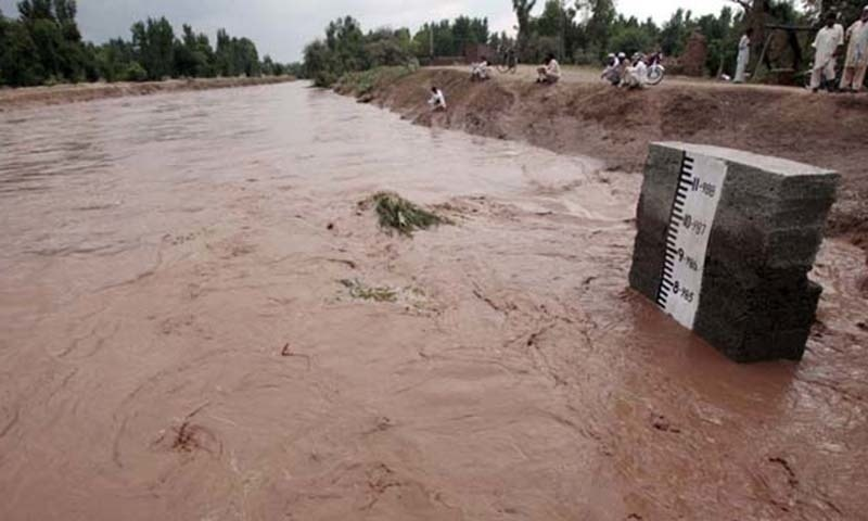 Water level of Hub Dam reaches maximum capacity after torrential rains