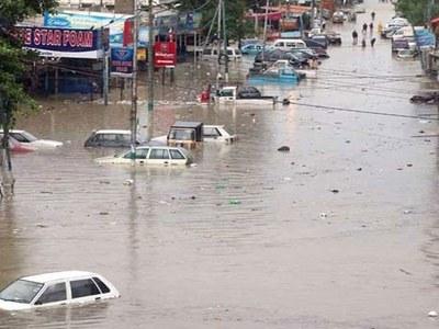 Karachi to receive another spell of heavy rain over weekend, warns Met office