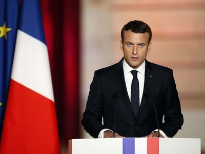 Macron to hold top-level talks in Baghdad Wednesday: Iraq officials
