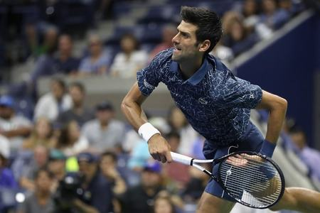 'Stressed out' Djokovic brings intensity to atmosphere-free US Open