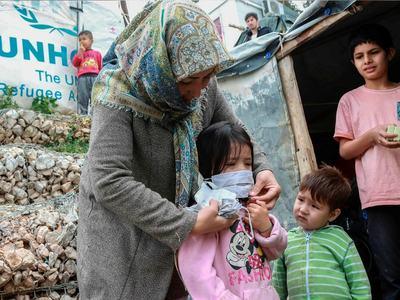 First coronavirus case in Greece's main migrant camp