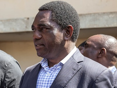Zambia presidential challenger fears for his life