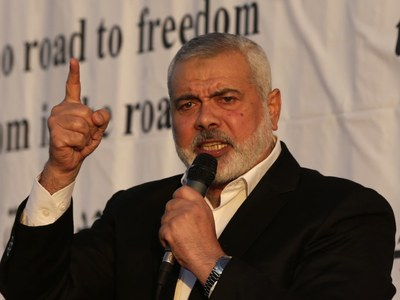 Hamas chief in Lebanon to meet Palestinian factions