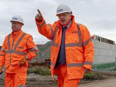 Britain begins work on new high-speed railway