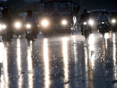 Widespread rain hits most parts of country