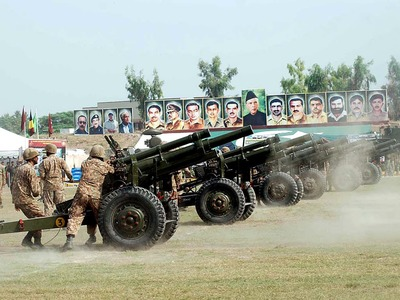 Nation celebrates Defence Day with great zeal