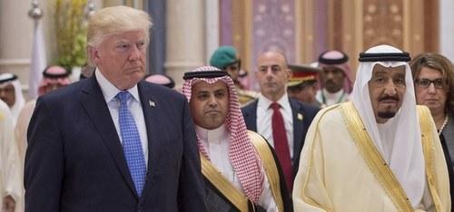 Saudi Arabia eager to achieve fair solution to Palestine issue, King Salman tells Trump