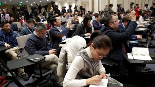 China delays renewing credentials for journalists at US outlets