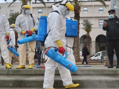 Libya reports highest virus cases for single day