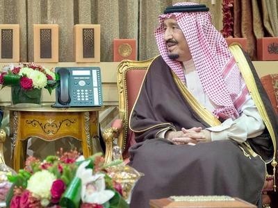 Saudi king calls for 'fair' Palestinian solution in Trump call