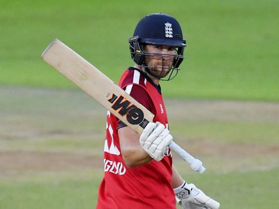 England's Malan pleased with performance under pressure