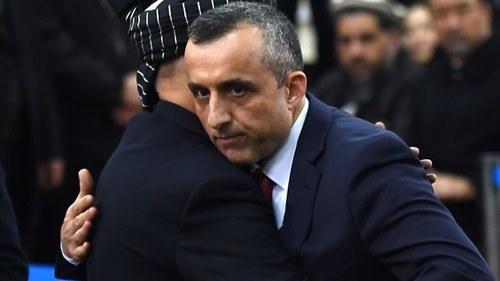 Afghan VP Amrullah Saleh escapes bomb attack in Kabul