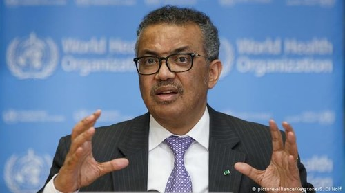 WHO chief calls for solidarity, global leadership to defeat COVID-19 pandemic
